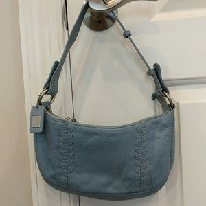 Ralph Lauren blue leather purse
